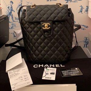 Chanel Lambskin Medium Backpack